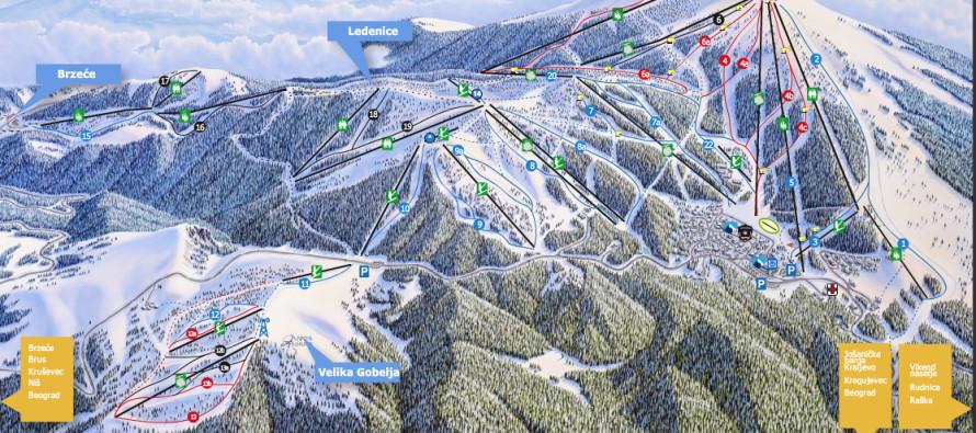 Skijaške staze i žičare