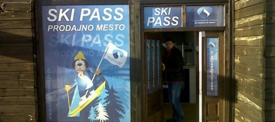 """Novo ski pass prodajno mesto u """"Žici"""" na Kopaoniku"""