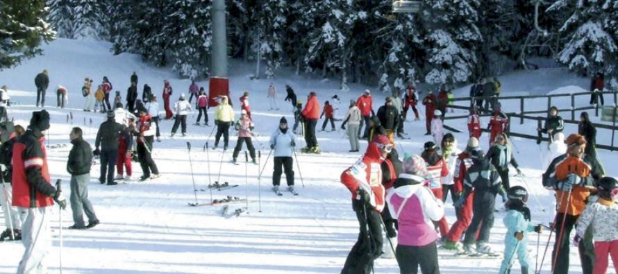 Na Kopaoniku dnevno skija više od 7 hiljada skijaša