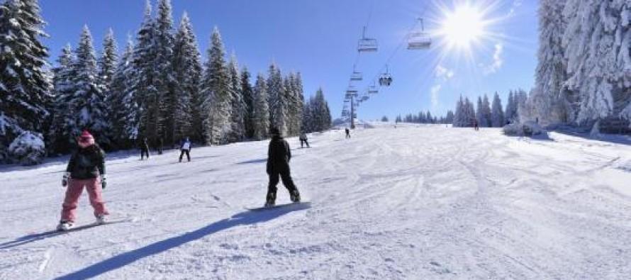 Velika posećenost skijališta u Srbiji