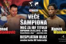 Meč za IBF titulu u Hotelu Grand