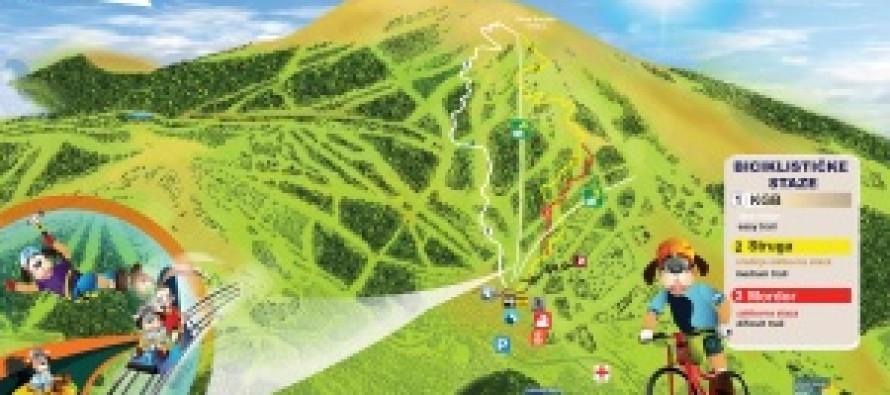 Nova letnja mapa Kopaonika