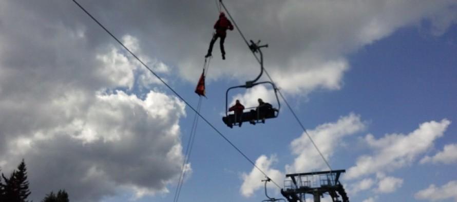 Vežbe evakuacije na Kopaoniku