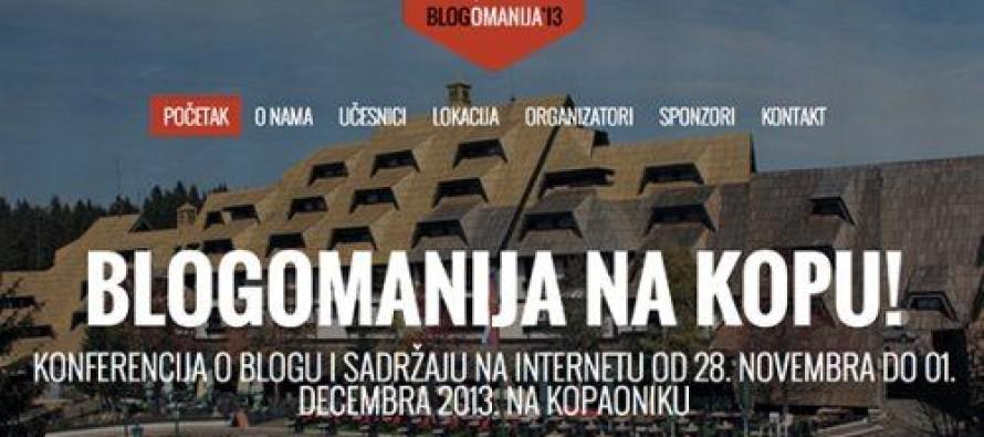 Blogomanija na Kopu od 28.11. do 1.12.2013.