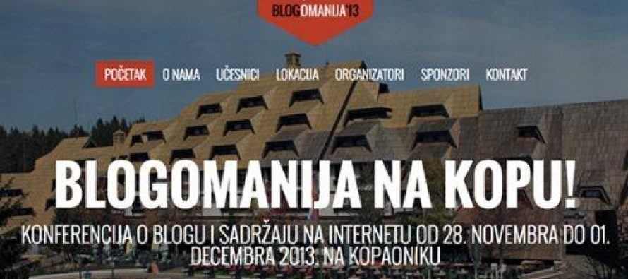 Blogomanija na Kopu od 28.11. do 1.12.2013.