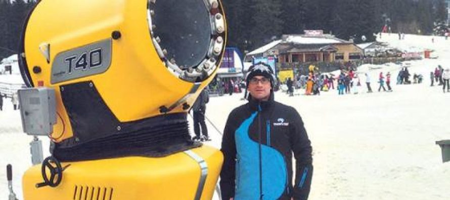 Navala turista: Veštački sneg privukao skijaše