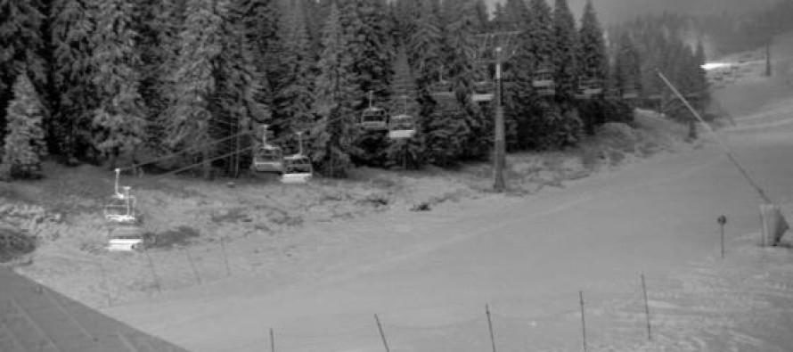 Konačno pada sneg na Kopaoniku