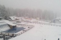 Prvi sneg na Kopaoniku