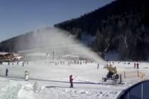 Od početka sezone napravljeno 800.000m3 snega