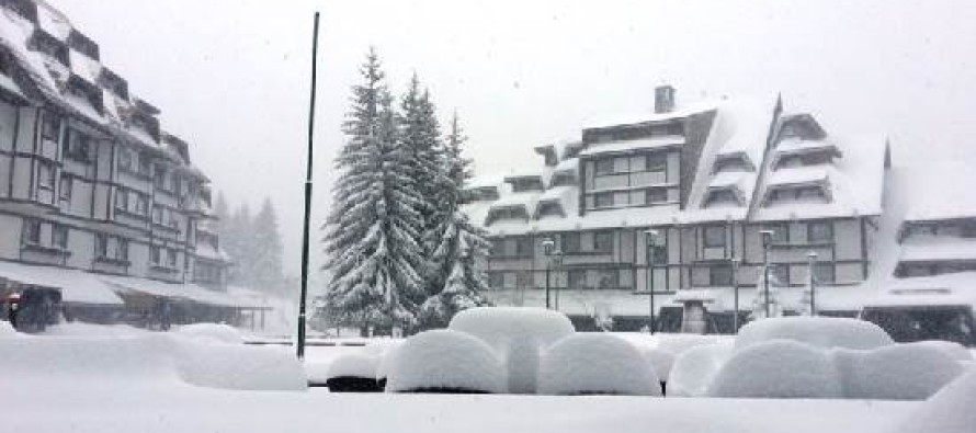 Ciklon Ines donosi pola metra snega na Kopaonik