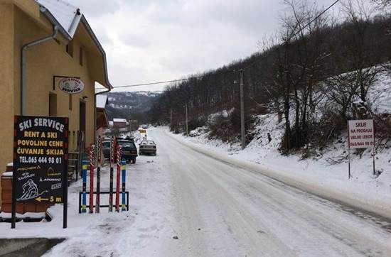 ski servis brus