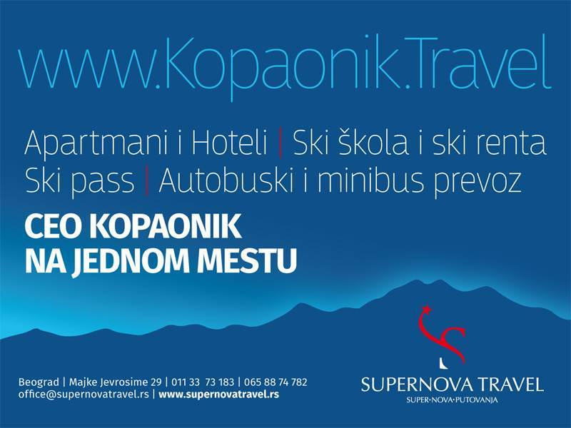 supernova travel kopaonik