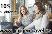 MujEn apartmani: 10% popusta na rani booking