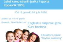 Kvalitetan raspust za vaše dete – Letnji kamp Skyline