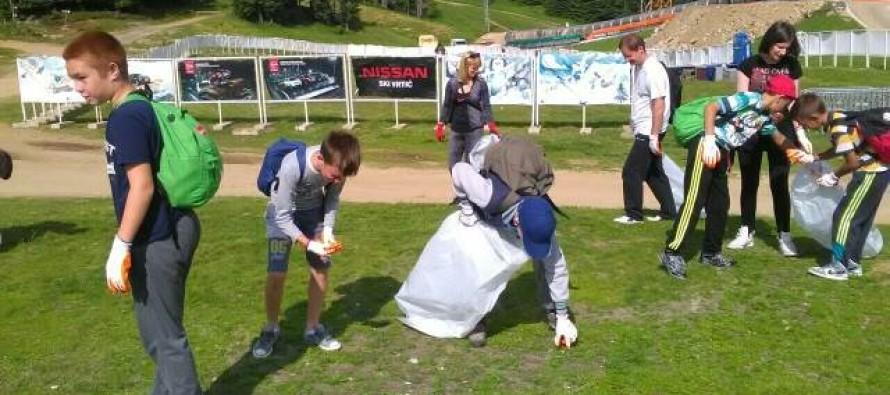 Održana akcija čišćenja Kopaonika