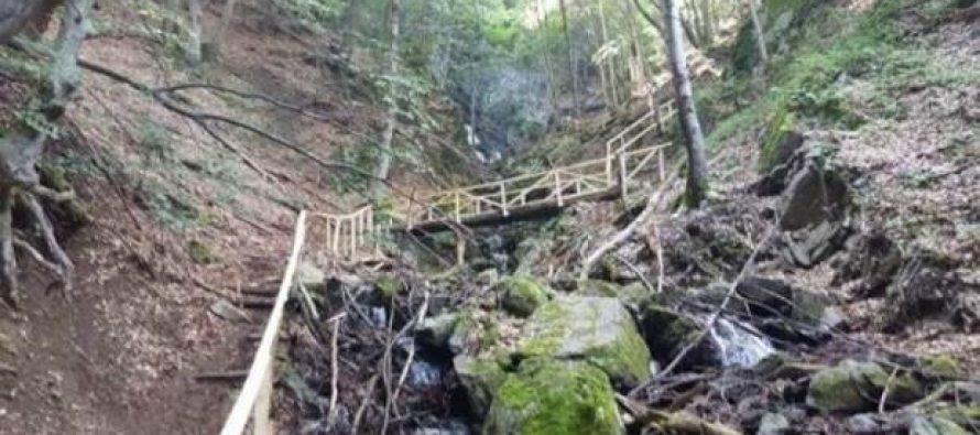 NP Kopaonik uređuje prilaz do vodopada Jelovarnik