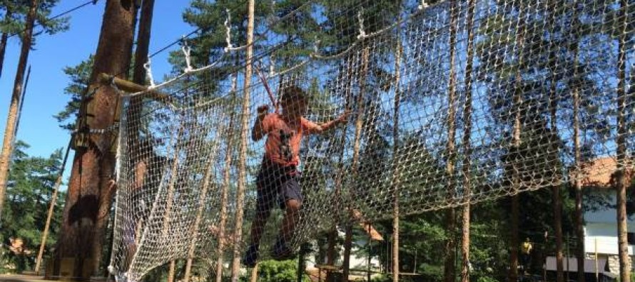 Gradi se avantura park na Kopaoniku