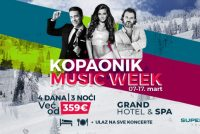 Music week na Kopoaniku