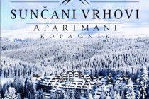 "Rani booking: Apartmani ""Sunčani vrhovi"""