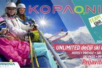 Unlimited – dečiji ski kamp Kopaonik