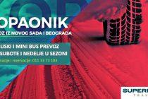 Prevoz do Kopaonika u režiji Supernova travel agencije