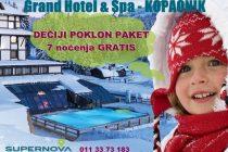 Grand Hotel&Spa: dečiji poklon paket