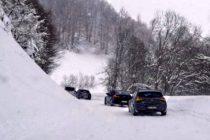 83 cm snega, prilaz preko Brzeća neprohodan