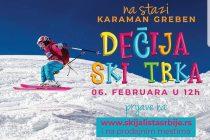 Dečija ski trka na stazi Karaman greben