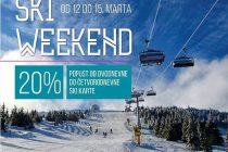 Promotivni ski vikend od 12. do 15. marta