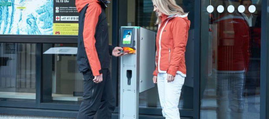 Beskontaknto preuzimanje ski karta preko PickUp Box-a