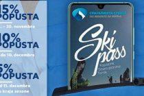 Pretprodaja ski karata sa popustom od 15.novembra preko web shopa